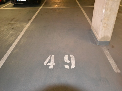 Parking Space at One Park West